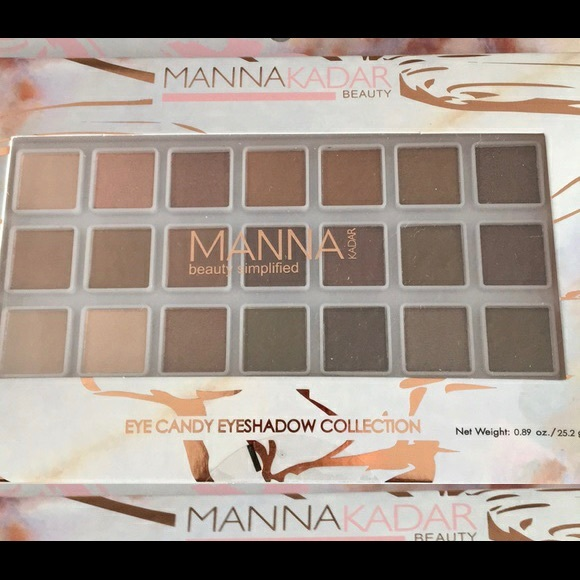 Manna Kadar eye candy eyeshadow collection